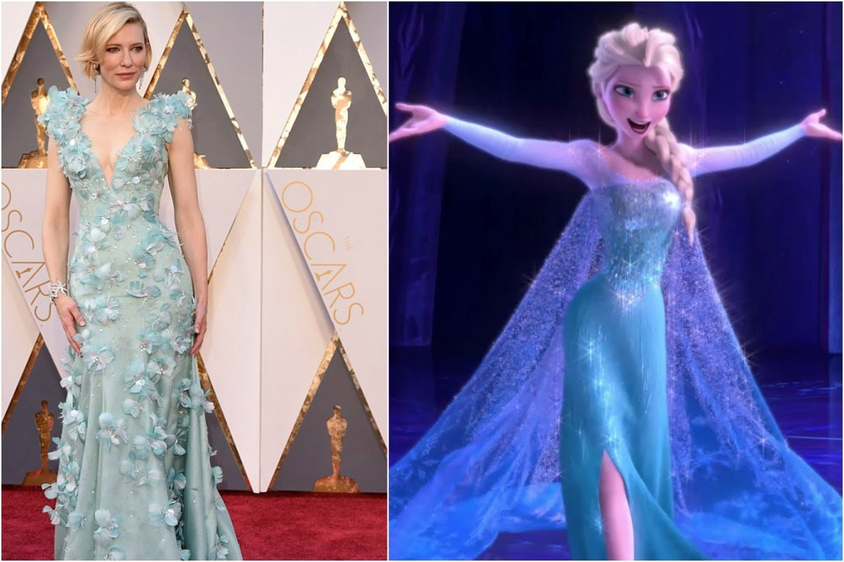 Actually, on second tought, Elsa's dress was better.
