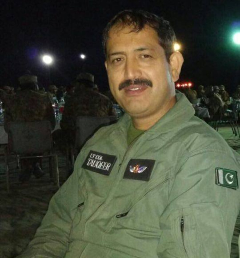 Lt Col Tauqeer - Courtesy ISPR
