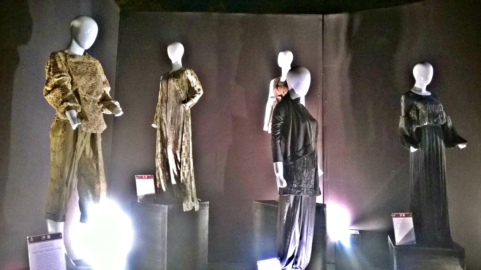 Each outfit of the 20-piece exhibition shares a story of Kashf Foundation's journey - Photo by author