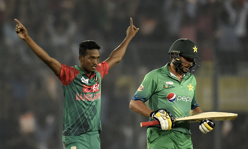 Pakistan lost to India and hosts Bangladesh, and only managed to beat UAE in the ongoing Asia Cup. — AFP