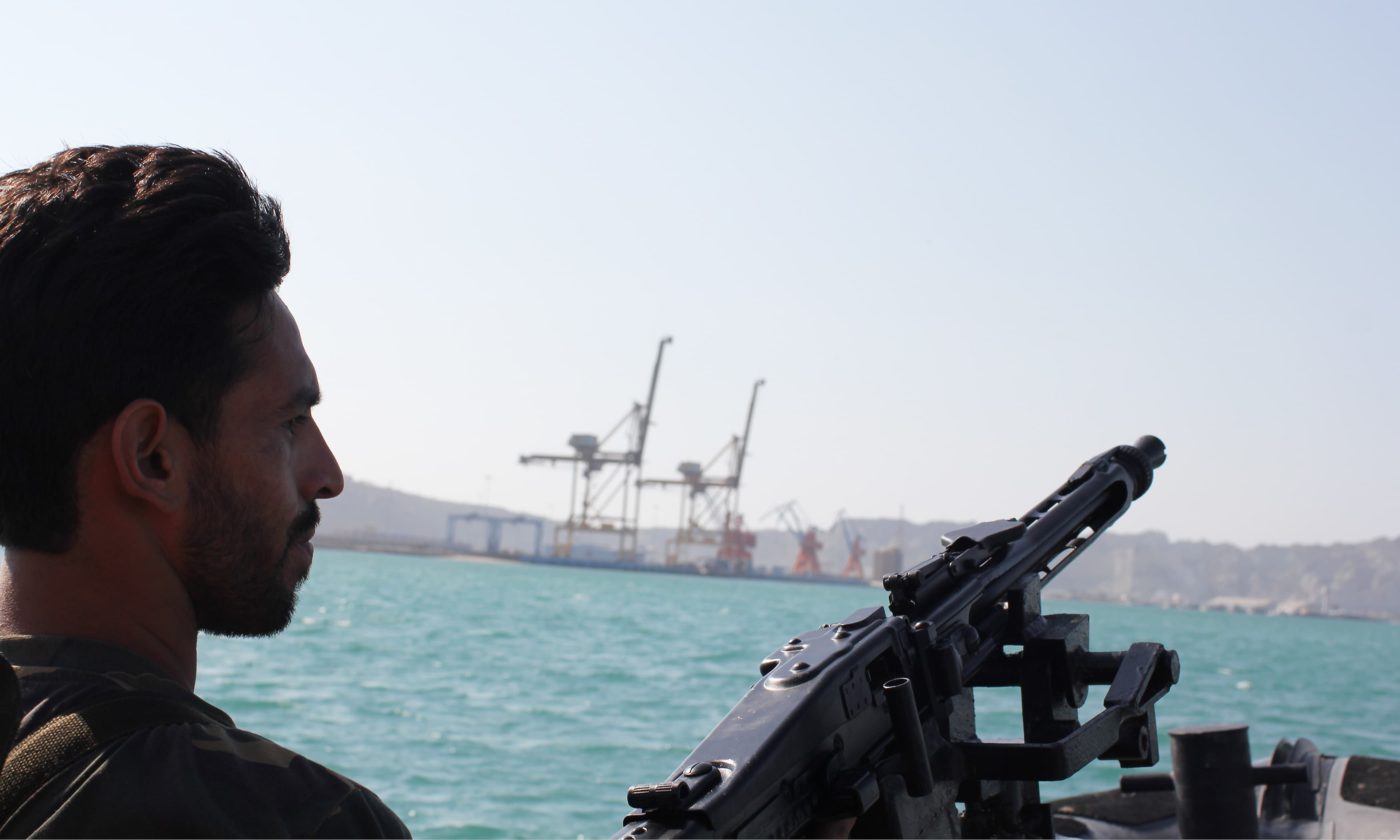 Pak Marines' battalion provides security to Gwadar port.