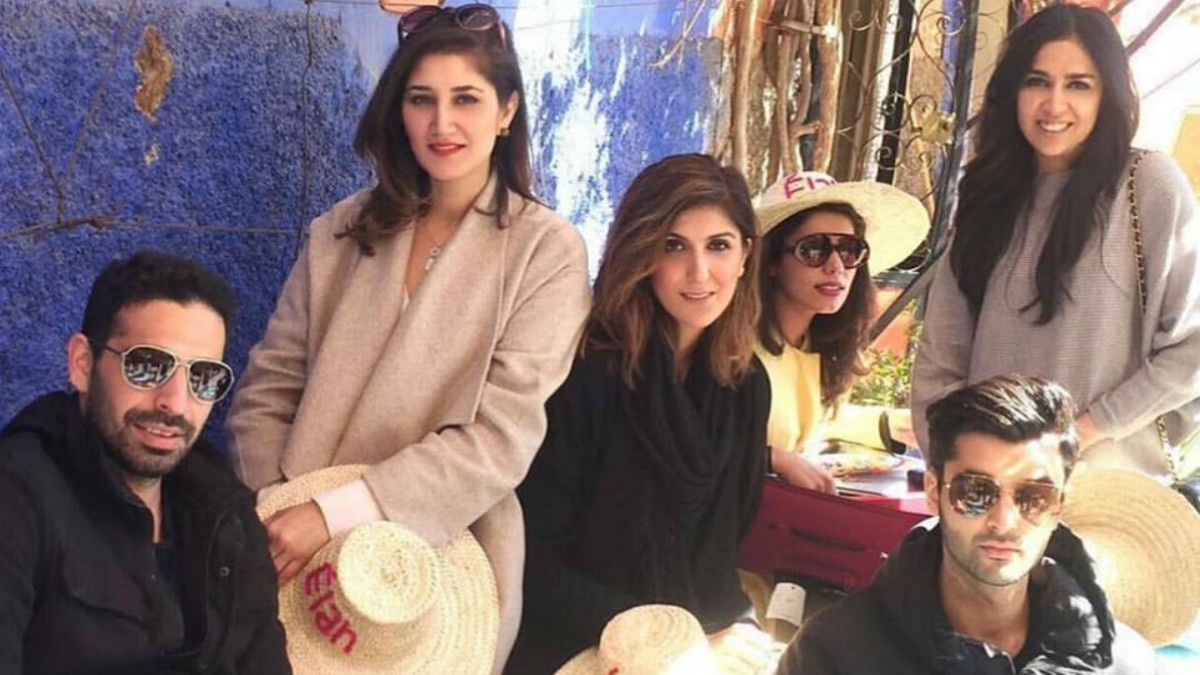 Elan's team flew to Morocco to shoot the lawn campaign