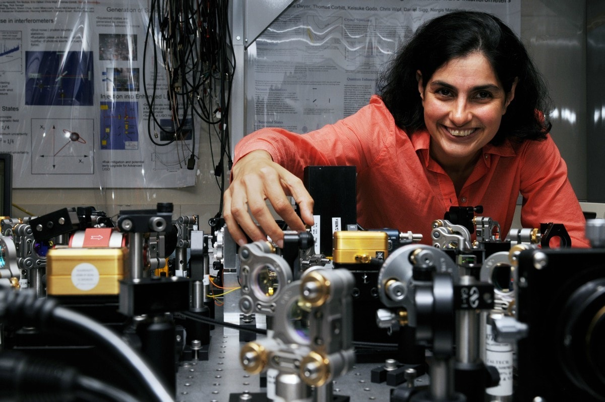 Mavalvala was among the group of researchers who detected gravitational waves earlier this year