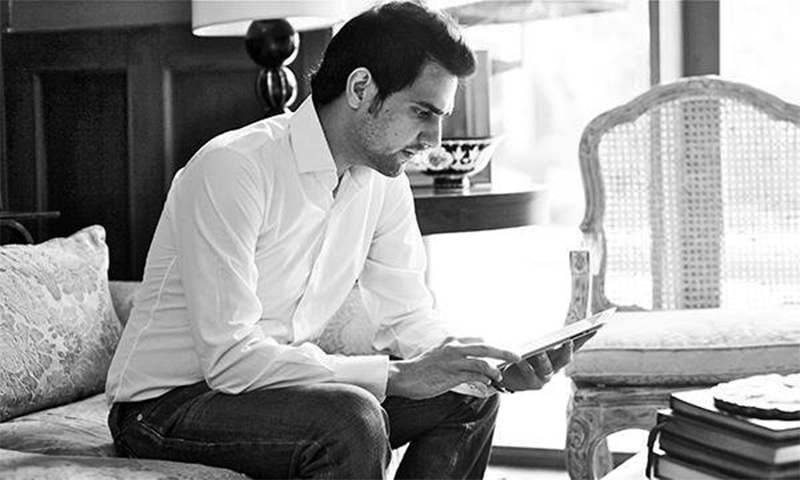 Shahbaz Taseer. –Photo courtesy Twitter