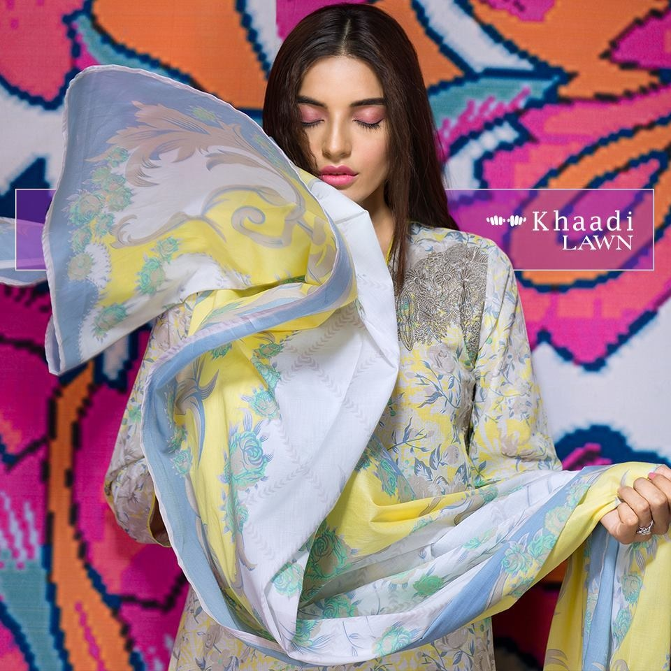 In the lawn market, the Khaadi label has snowballed into a powerful force