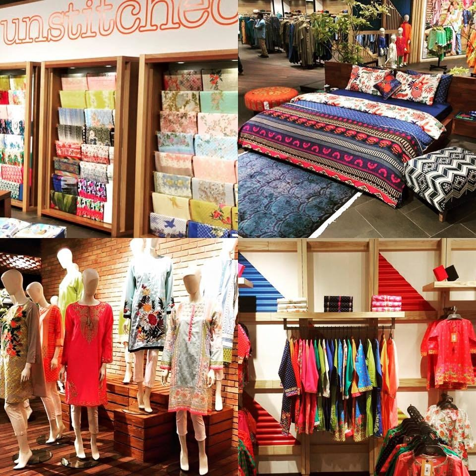 Glimpses of the Khaadi mega-store in Dolmen City Mall, Karachi
