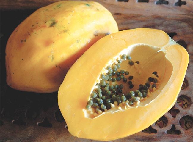 Delicious desi papaya