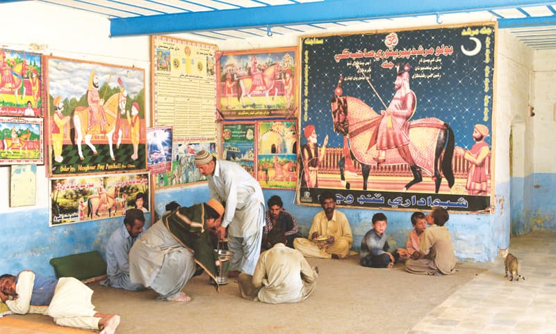 The shrine of Pir Pithoro in Pithoro Town in District Umerkot is exclusively a shrine for lower caste Hindus