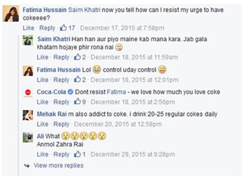 coke not good for health