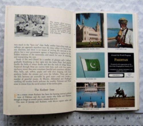 A 1963 tourism book on Pakistan.