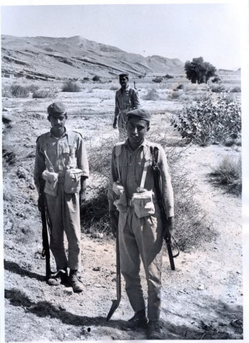 Pakistani soldiers in Balochistan during the 1973 Baloch nationalist insurgency.