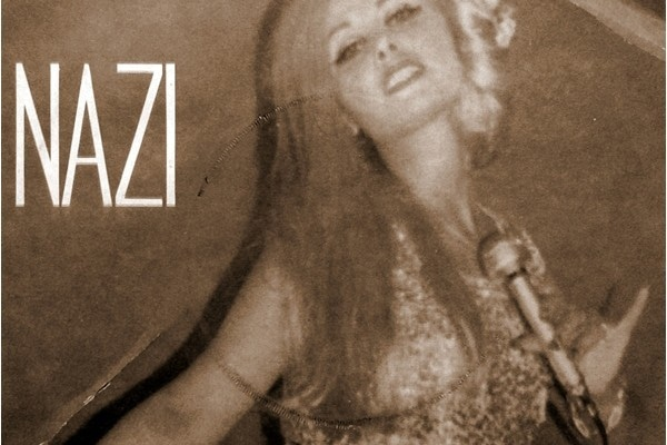Iranian pop star, Naazi, performing in Lahore in 1976.