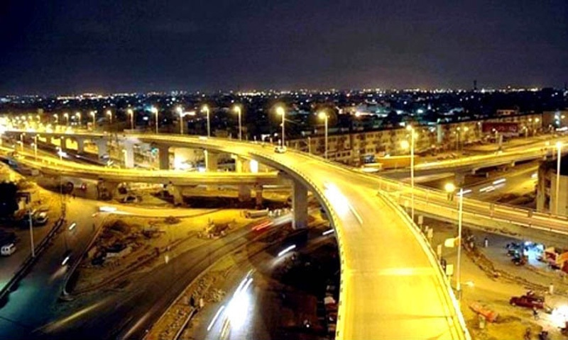Major urban centres like Karachi witnessed widespread development and stability during the Musharraf regime.
