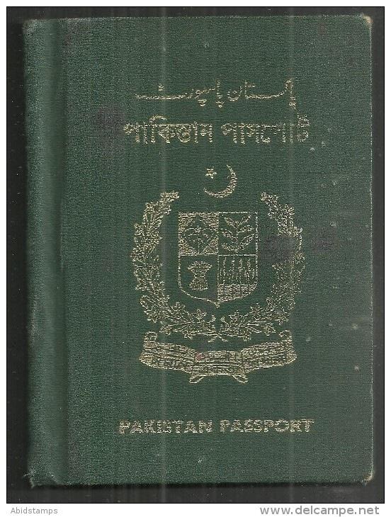 A 1961 Pakistani Passport.