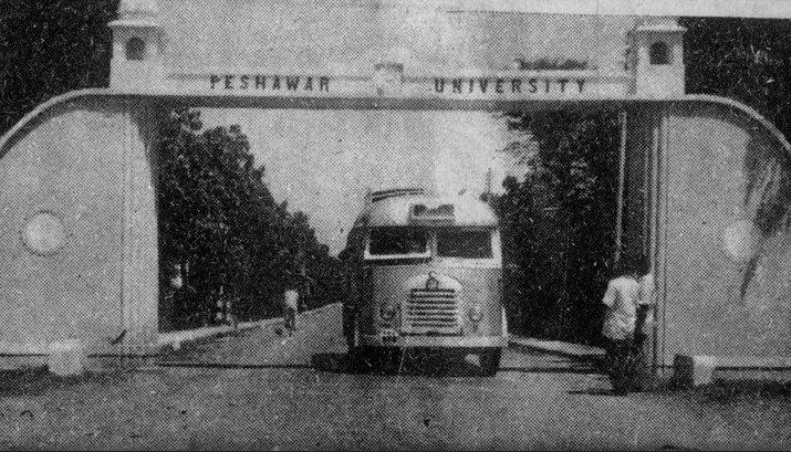 Peshawar University, 1965.