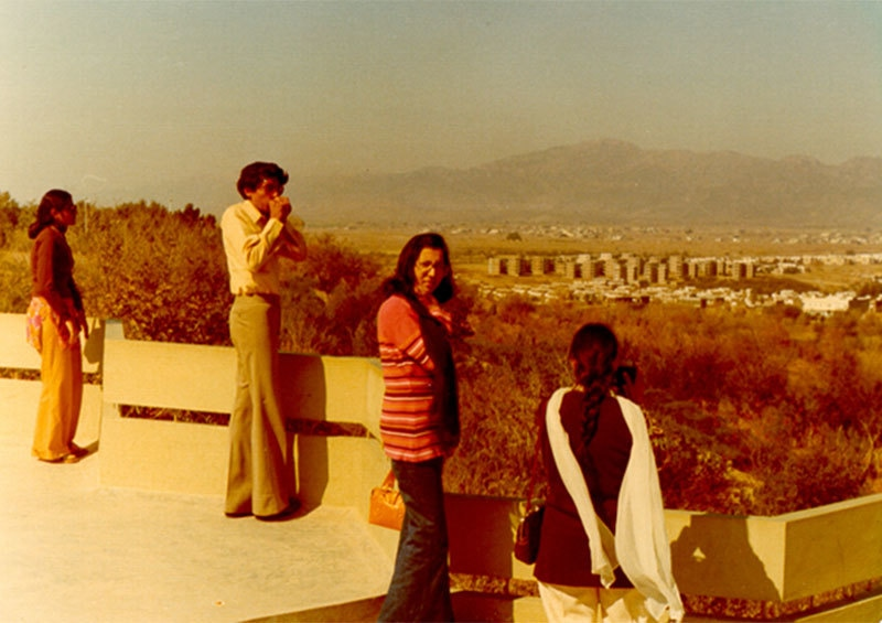 College students in Islamabad, 1975.