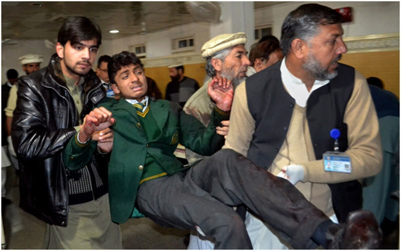 The tragic terror attack that changed Pakistan. APS school, Peshawar, 2014.