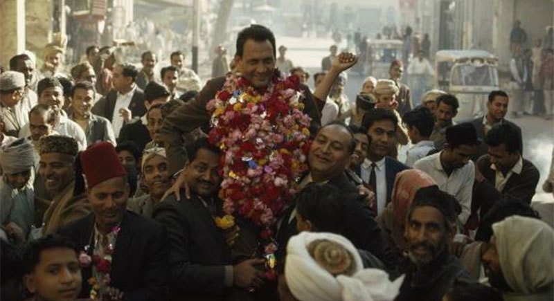 A PPP candidate celebrating victory in the 1970 election.
