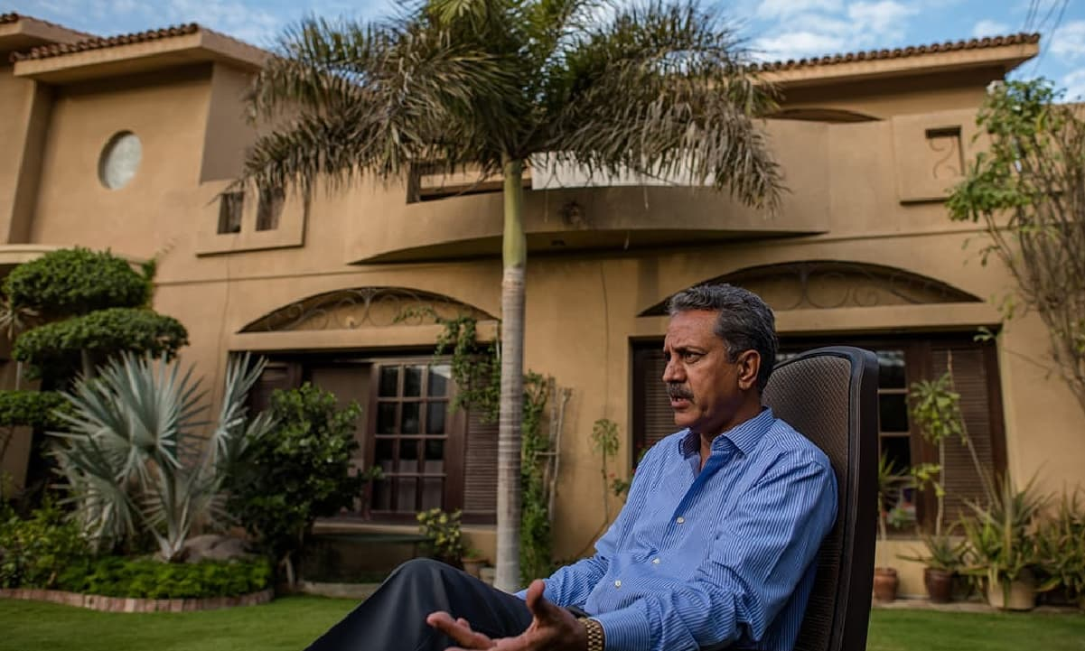 Waseem Akhtar: The party man