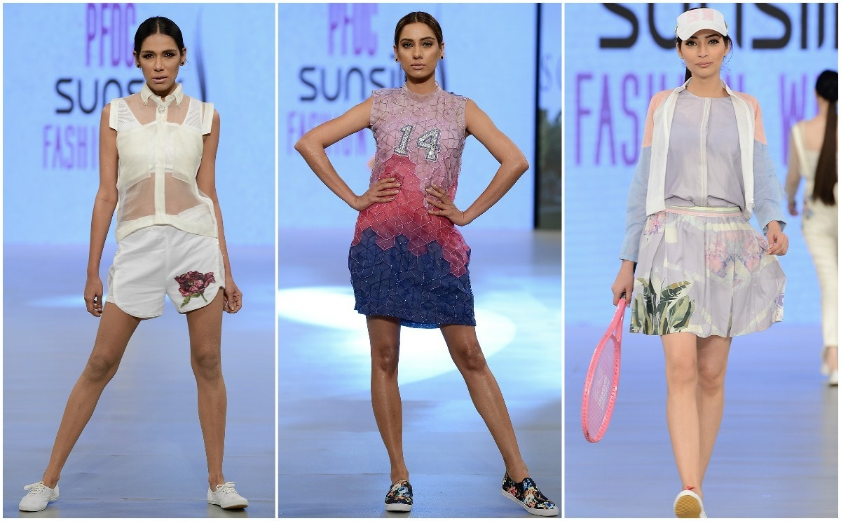 Sobia Nazir was on-trend with the emphasis on sportswear, but wasn't exciting enough