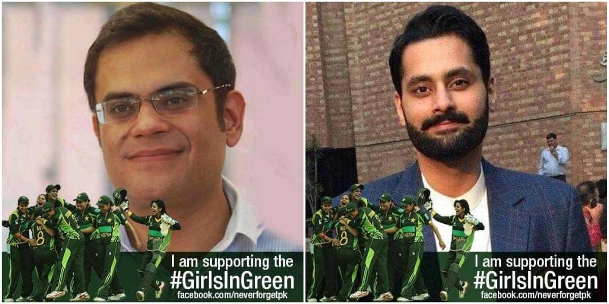 Policy analyst/writer Raza Rumi and lawyer/political activist Jibran Nasir