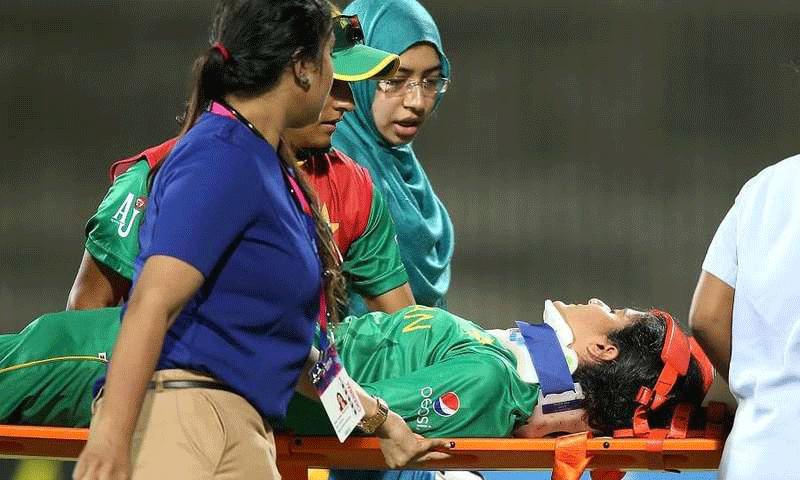 Pakistan opener Javeria Khan discharged after bouncer incident