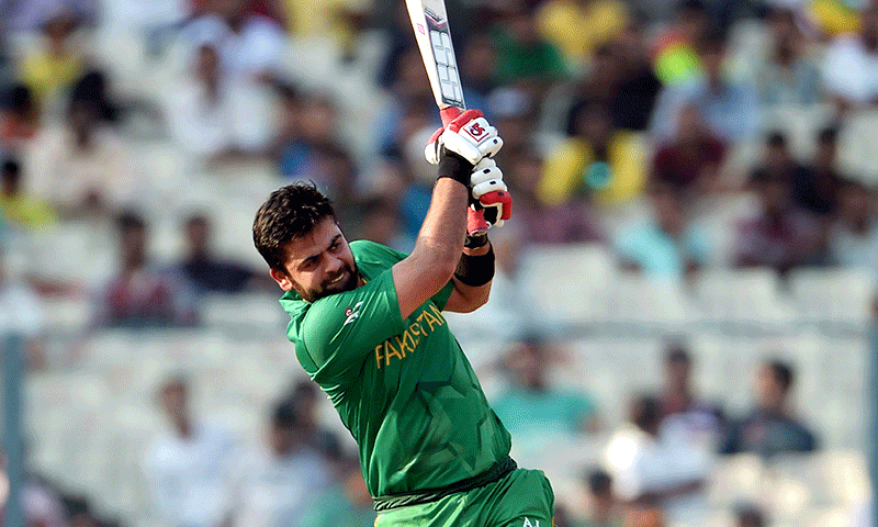 Pietersen to Shehzad: 'Leave the helicopter shots to MS and I'