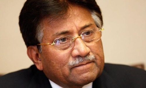 Musharraf's talk