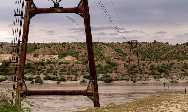 A view of Kalabagh river.—Kohi Marri/File
