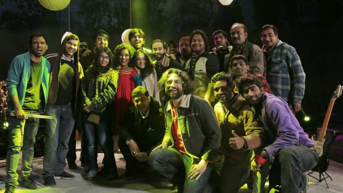The Yaariyan crew —Photo courtesy: Noori official Facebook page