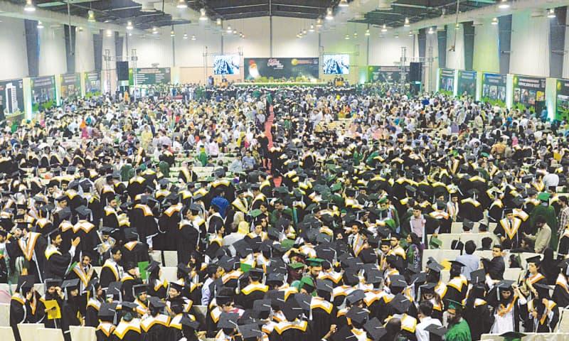Over 1,500 graduates bid farewell to Sir Syed varsity at