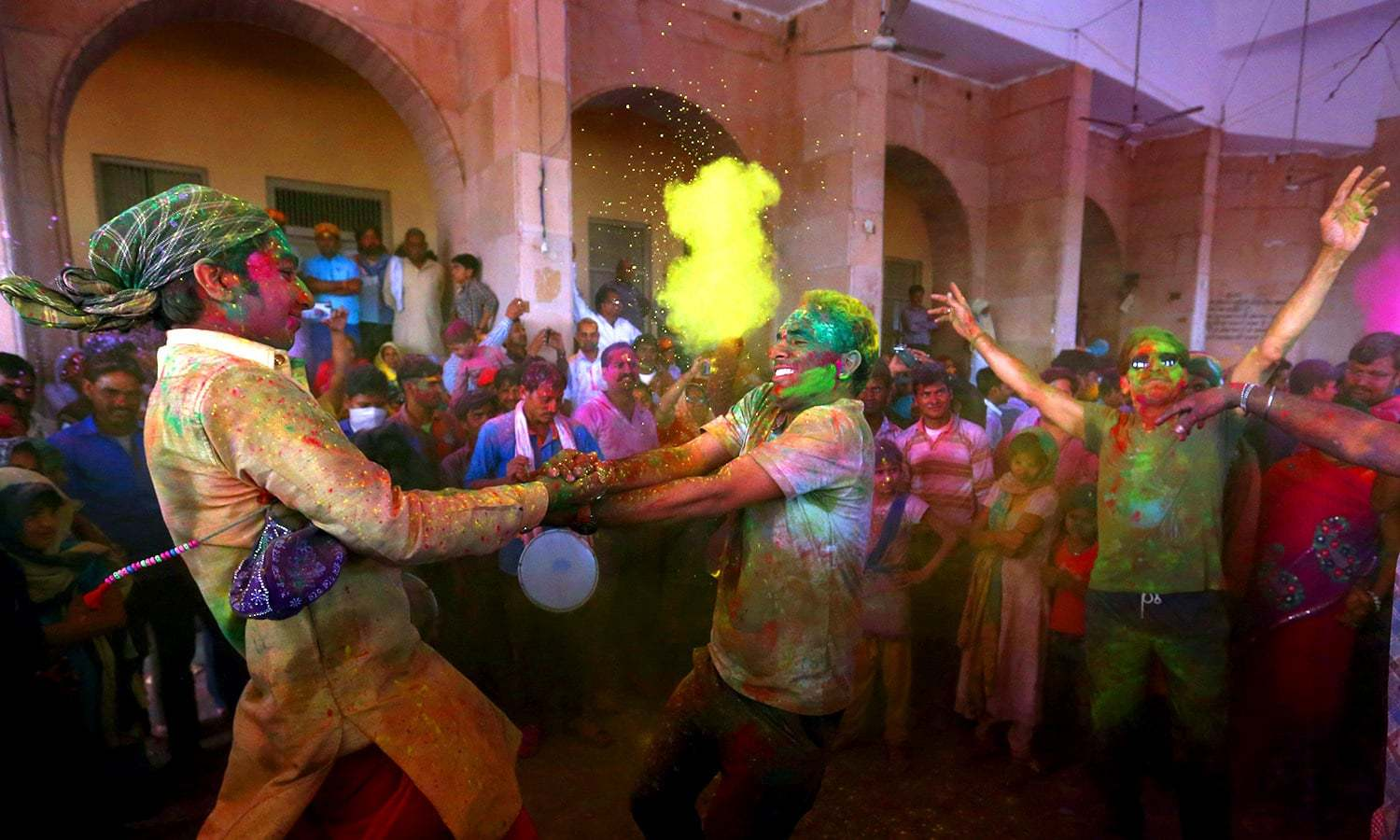 In a first, Sindh declares public holiday on Holi
