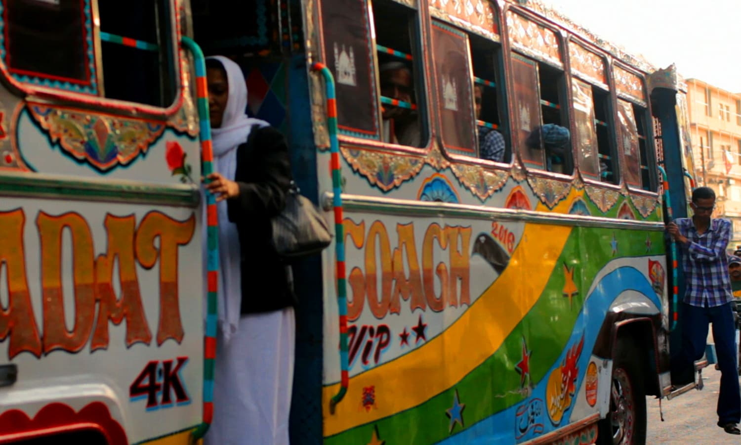 when will pakistani men stop harassing women on buses? - pakistan