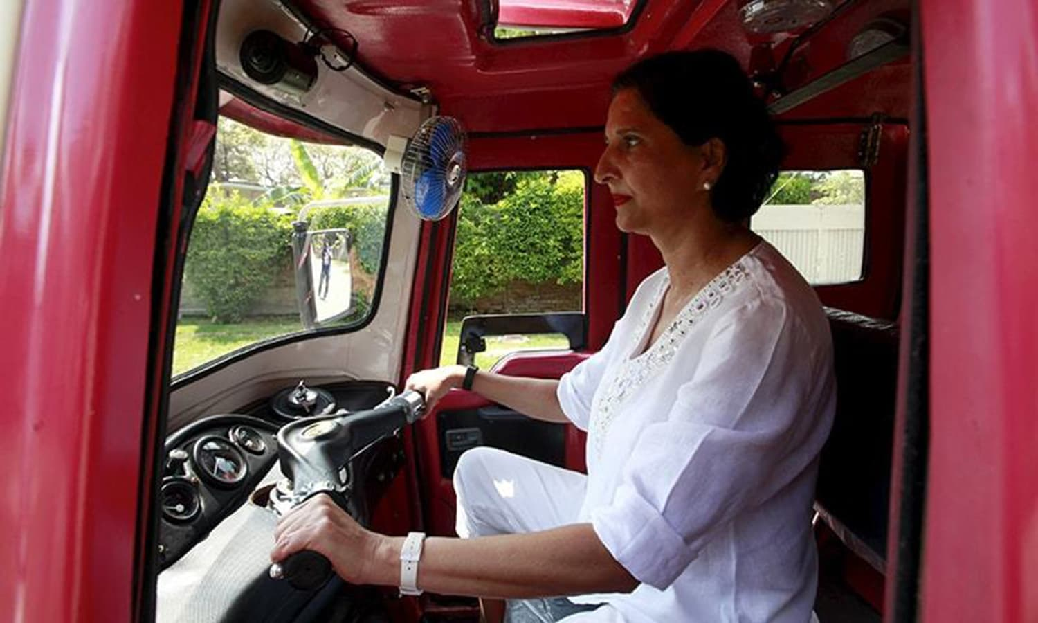 Hasan feels that women-only vehicles are not the solution. Photo: Reuters/File