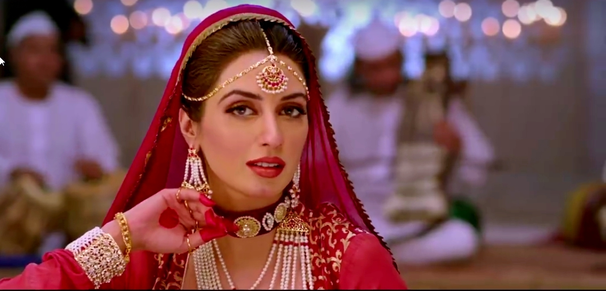 Iman Ali stars as Mir's object of desire and her character is said to have a metaphorical significance in the film - Screengrab