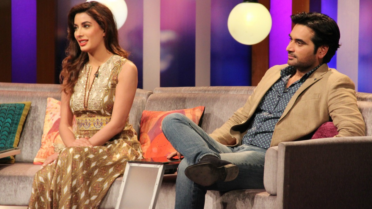 Humayun Saeed and Mehwish Hayat will be appearing as guests