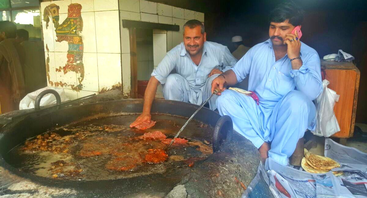 Kambil Kebab House is a family-run restaurant with fourth generation descendants of the legendary Sultana Aany frying the kebabs themselves