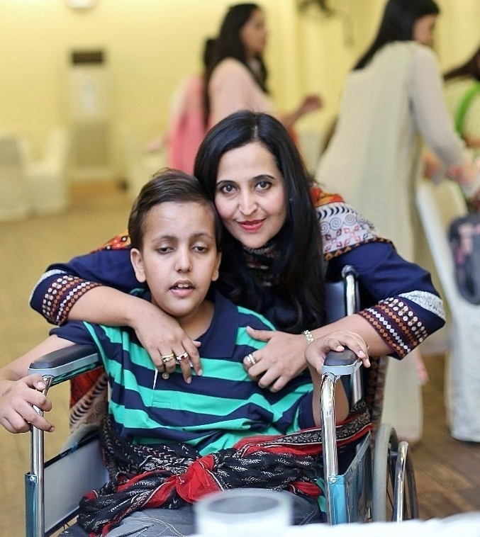 Amaan was born with mitochondrial disease