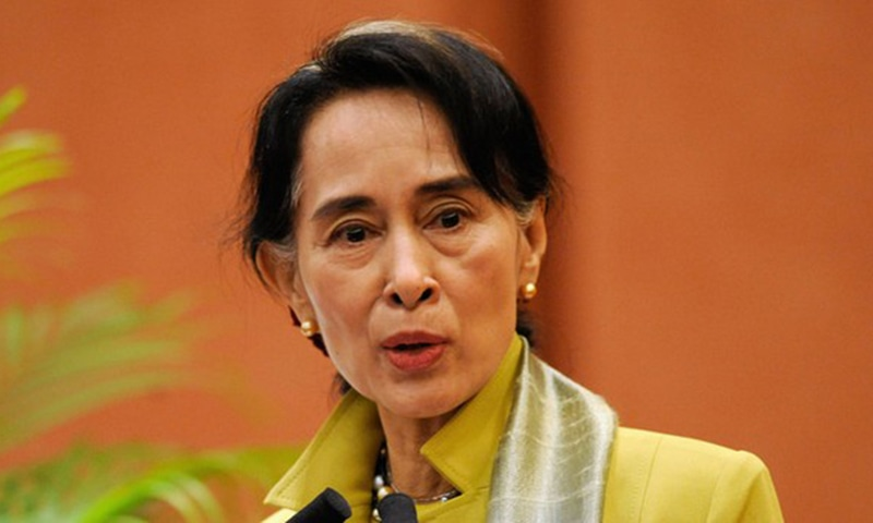 میانمار کی جمہوریت پسند رہنما آنگ سان سوچی—۔فائل  فوٹو/ اے ایف پی