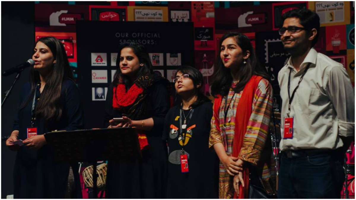 The LLM core team: Natasha Noorani, Ayesha Haroon, Zahra Paracha, Noor Habib and Hasan Abbas