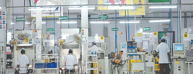 Thal plant at Karachi. The sales of the company's engineering segment rose by well over a fifth to Rs5.46bn in the first half of current financial year to December 2015 as auto industry grew by 66pc during this period.