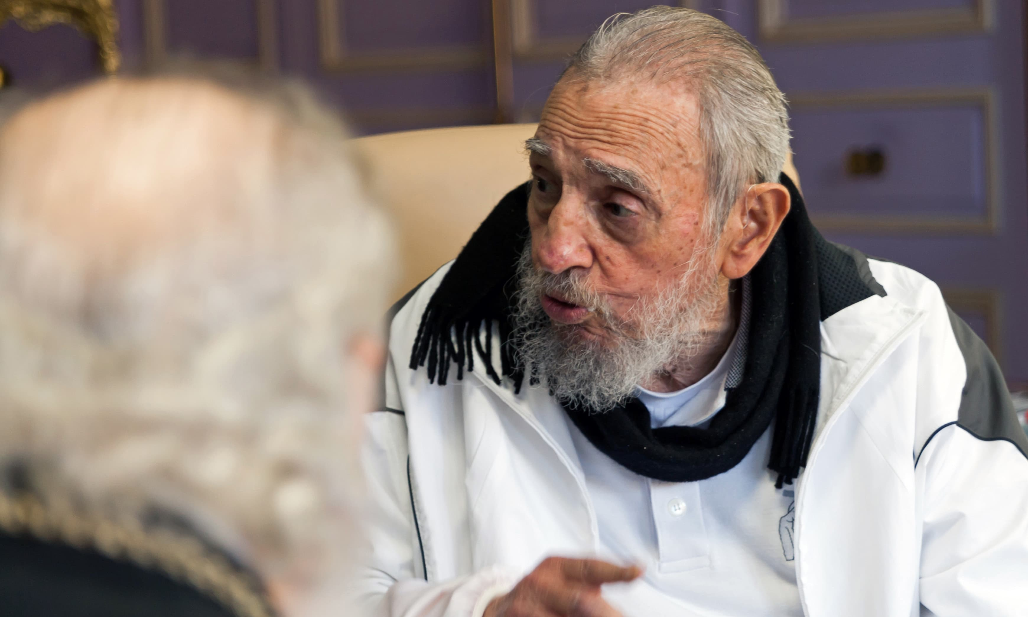 """Castro said that """"We do not need for the empire to give us anything,"""" in reference to the recent visit by US President Barack Obama to Cuba. —AP"""