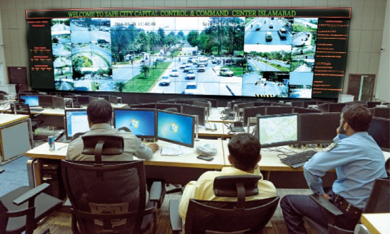 The command and control centre in H-11. – White Star