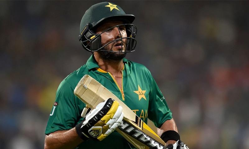 شاہد آفریدی کی قیادت میں پاکستان ٹیم کو ورلڈ ٹی ٹوئنٹی اور ایشیاکپ میں شکست ہوئی تھی—فوٹو: اے ایف پی
