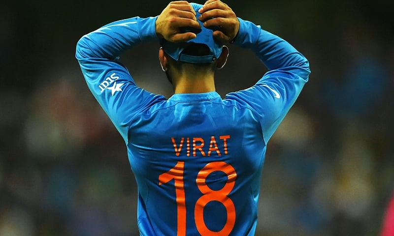 Virat Kohli does it all, almost