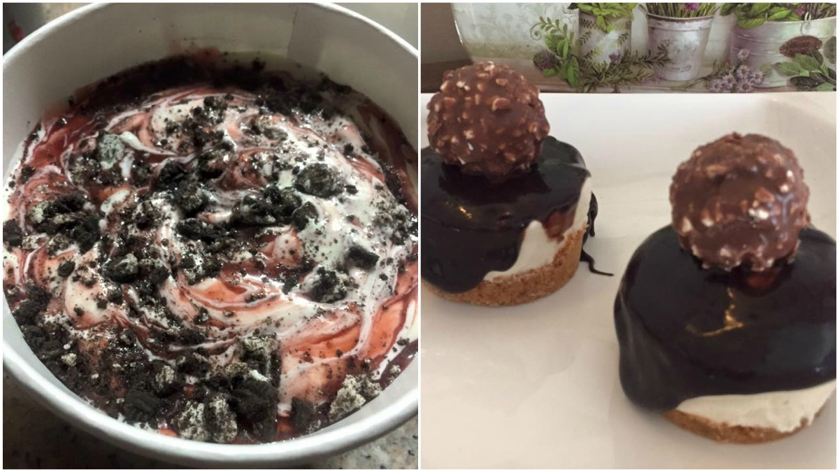 Pink Ivy also offers bite-sized cheesecakes and strawberry cheesecake and Oreo icecream - Photos courtesy Pink Ivy's Facebook page