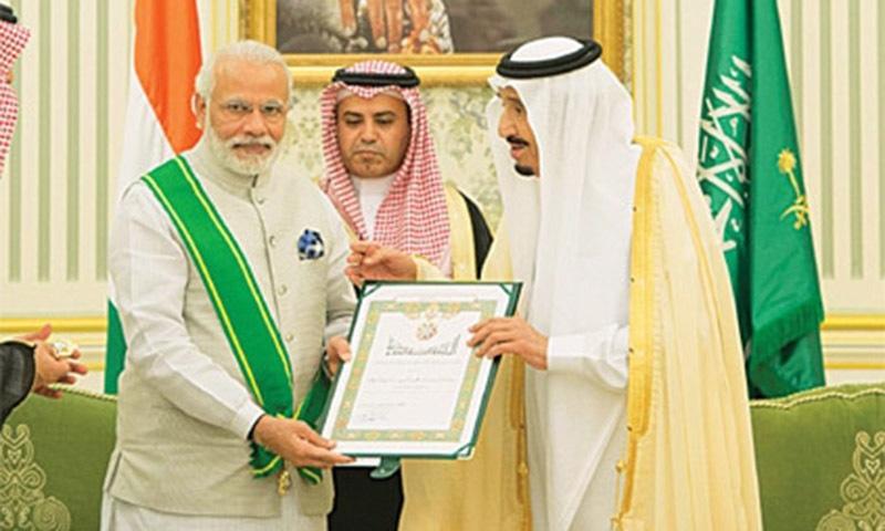 2016ء میں نریندر مودی کے دورہ بھارت نے سعودی عرب اور بھارت کو قریب کردیا