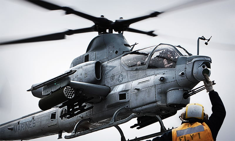 US Navy orders nine AH-1Z Viper Attack Helicopters for Pakistan