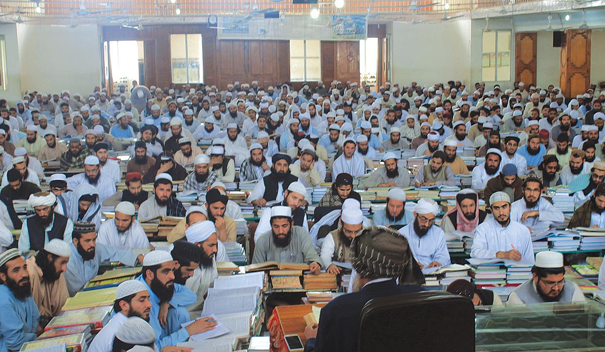 A mega class room at a madrasa | Ghulam Dastageer