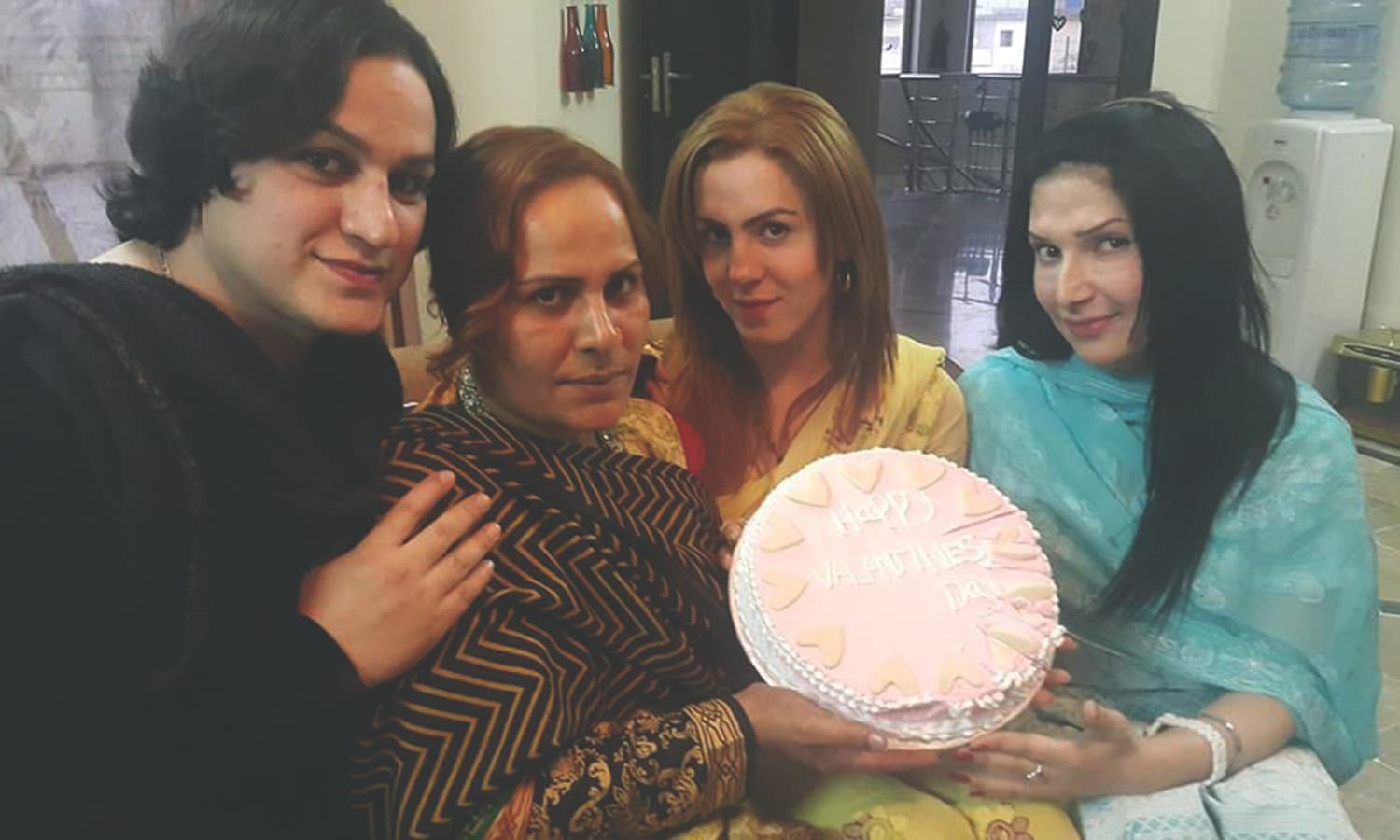 Paro celebrates her birthday in Peshawar. ─ Photo courtesy: Trans Action Khyber Pakhtunkhwa